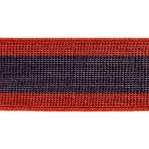 Elástico de telar reforzado azul y rojo