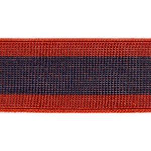 elastico de telar reforzado Novotex azul y rojo