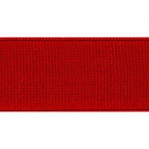 Elástico de telar reforzado rojo