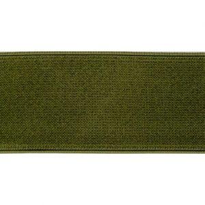 Elástico de telar reforzado verde